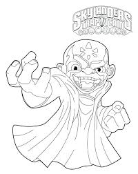 Skylanders Coloring Pictures Trap Team Coloring Pages Trap Team
