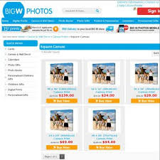 on canvas wall art big w with 50 off bigw photos square canvas prints deals and coupons