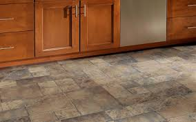 stone look laminate flooring direction