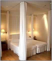 Hang Curtains From Ceiling As Room Divider Home