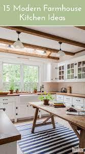 15 Ridiculously Charming Modern Farmhouse Kitchen Ideas Hunker Farmhouse Kitchen Design Modern Farmhouse Kitchens Kitchen Design