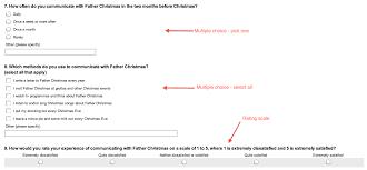 annotated screenshot of emma s survey