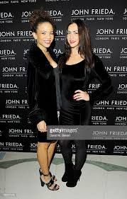 Jessica Martin Campbell and Alice Rhodes arrive at the John Frieda... News  Photo - Getty Images