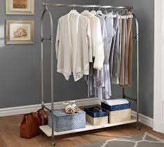 Home Outfitters Coat Rack Gorgeous New York Closet Pewter Clothes Rack