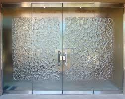 stone frameless glass doors sans soucie