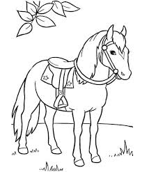 When children color, they strengthen the small muscles in their hands that help them learn to write. Horse Running Coloring Pages Coloring Home