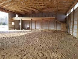 pole barn interior storage ideas
