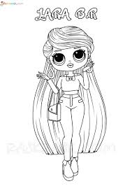 The larger ball contains a lol tot or a big sister and has 7 layers. Lol Omg Coloring Pages Free Printable New Popular Dolls