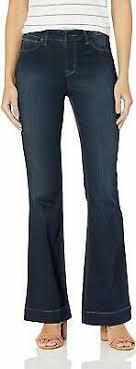 Inc Denim Regular Fit Flare Leg Trouser Jeans Size 8 Dark