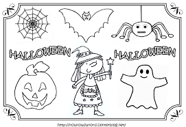 Coloriages D Halloween Le Blog De Maxi Mum