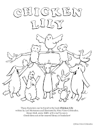 Nina Crittenden :: Artist for Children :: Coloring Pages