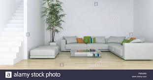 Modern bright living room Modern Day Modern Bright Interiors Apartment Living Room 3d Rendering Illustration Alamy Modern Bright Interiors Apartment Living Room 3d Rendering