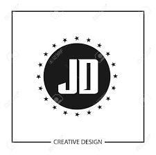 Jd Design Initial Letter Jd Logo Template Design