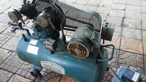 Máy bơm hơi Osaka Japan mô tơ Mitsubitshi 2hp cổ. Bình 100L. Liên hệ Duy  0946377778. - YouTube
