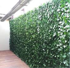 expandable faux ivy trellis faux ivy wall artificial ivy wall screening hedge silk trees and plants expandable faux ivy