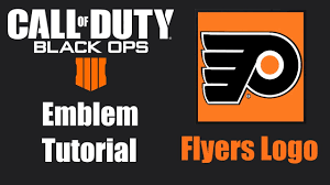 Flyers Logo Pictures Black Ops 4 Emblem Tutorial Philadelphia Flyers Logo