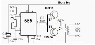 12v power inverter ne555 circuit diagram world figure 1 12v power inverter circuit diagram
