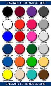 What Goes With Red tips & advice | los angeles signs - sign color chart -