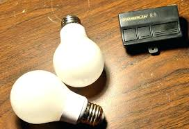 garage door opener light solution to a burnout problem