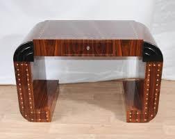 art deco desk writing console table vintage 1920s furniture art deco furniture design