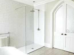 frameless glass shower walls doors frameless glass shower half wall