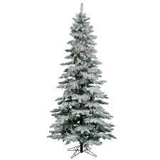 White Tree Colored Lights Amazon Com 12 X 65 Flocked Utica Fir Christmas Tree 1150