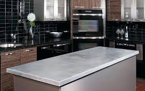 metal countertop
