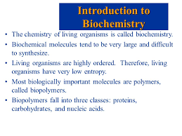 option b biochemistry jeff venables northwestern high school  the chemistry of living organisms is called biochemistry