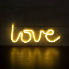 neon furniture. Love LED Neon Sign Wall Light, White Furniture