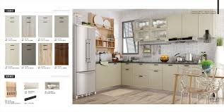 China Glossy Pvc Door Panel Kitchen Cabinets Modern Kitchne