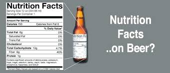 Miguel S Nutrition Chart Bud Light Nutrition Facts