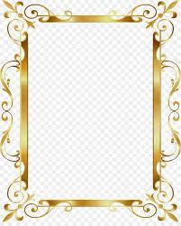 Picture Frame Design Png Frame Gold Frame
