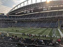 Seattle Seahawks Stadium Seating Chart Rows Centurylink Field Section 205 Seattle Seahawks