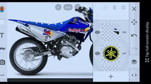 Yamaha Xtz 125 Decals Design Xtz 125 Yamaha Decals Youtube