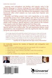 Buy Mastering Spanish Irregular Verbs A Simplified Approach