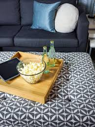 tufted coffee table storage ottoman turn an old coffee table into