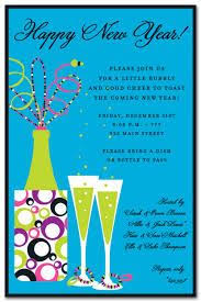 Take Advantage Of The Large Collection Of New Years Invitation