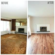 can i paint laminate flooring this refinishing
