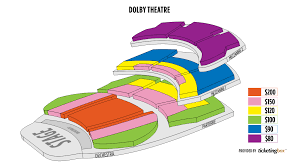 Images Dolby Theater Seating Chart Seating Chart