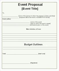 Event Planning Proposal 20 Event Planning Proposal Template Simple Template Design