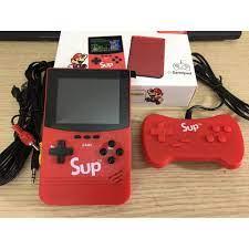 Máy Chơi Game cao cấp Sup 500, máy cổ điển mini cầm tay, tích hợp SẠC DỰ  PHÒNG, chính hãng bảo hành 06 tháng