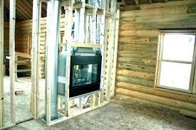 corner wood burning fireplace insert decoration 2 sided fireplace ideas idea double gas corner wood burning