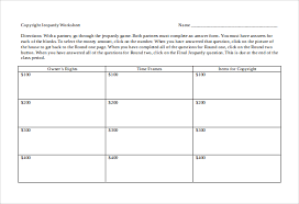 Jeopardy Game Template 13+ Microsoft Word Jeopardy Templates Download | Free & Premium ...