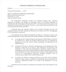 Rfp Proposal Cover Letter Response Cover Letter Response Cover