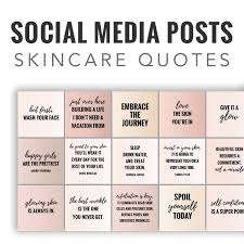 Skin Care Quotes Impressive 48 Social Media Quotes Posts Skincare Quotes Skintone Colors