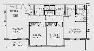 apartment 3 bedroom. 3 bed floorplan c3 apartment bedroom