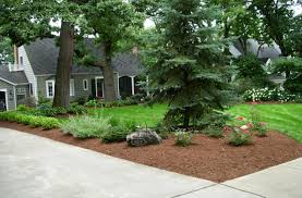 Arresting Thoughtful Curb Modest Yet Front Yards in Front Yard Landscaping