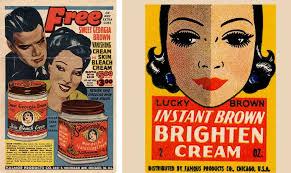 these skin lightening adverts