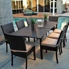 resin patio furniture sets. resin wicker outdoor dining sets like this one go with patio furniture