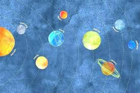 solar system wall decals kids room solar system wall decals art target arts s solar system